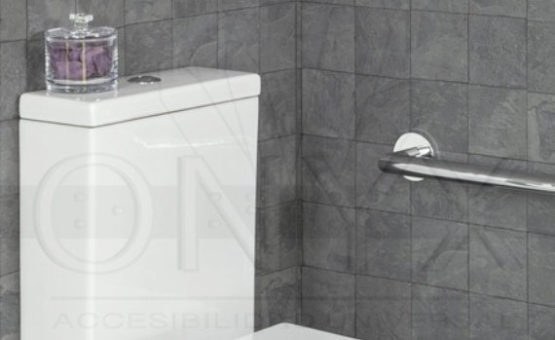 onyx barra fija en baño