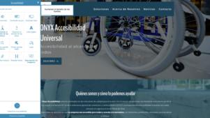 herramientas del widget de accesibilidad